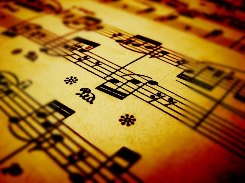 wedding ceremony music sheet