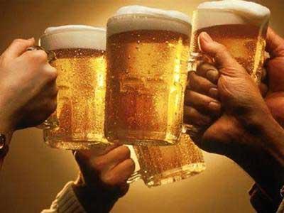 Uống bia chỉ để vui chứ đừng để thỏa mãn nhé