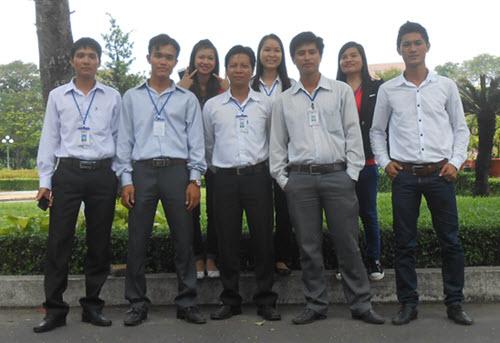 Đội nhóm đã giúp tôi rất nhiều trong quá trình học hỏi và làm việc