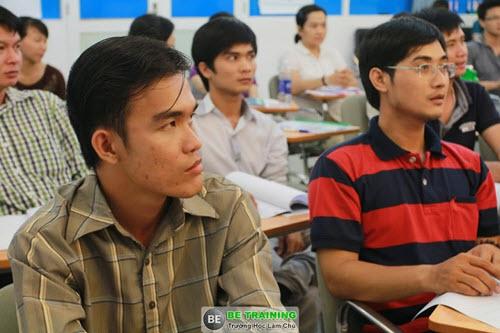 Tôi thật sự rất tập trung trong các khóa học của Thầy Duy