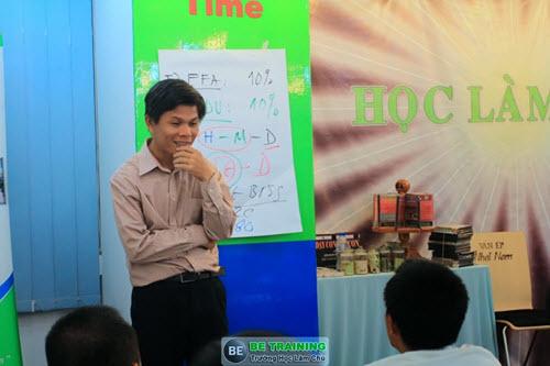 Thầy Nguyễn Thái Duy - Một người rất tận tâm và nhiệt huyết dạy làm chủ