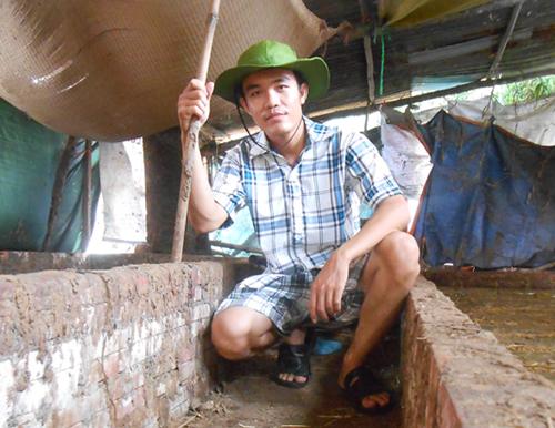 Con đường đến với nghề chăn nuôi và kinh doanh trùn quế